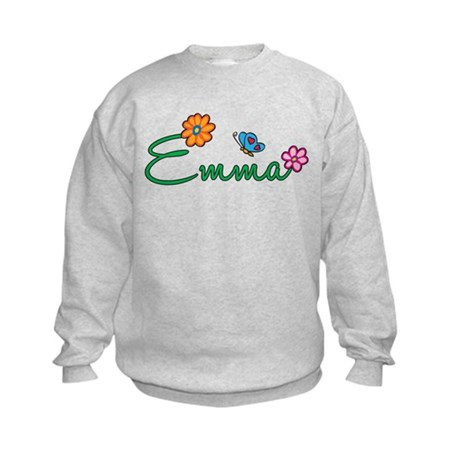 Emma Flowers Kids Sweatshirt