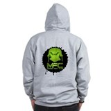 Monkey Fight Club zip hoodie