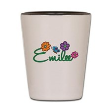 Emilee Flowers Shot Glass