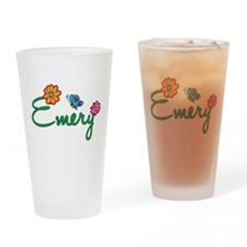 Emery Flowers Drinking Glass
