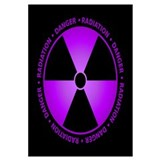 Purple Radiation Symbol