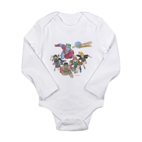 By Our Powers Combined Long Sleeve Infant Bodysuit