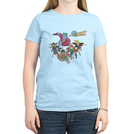 By Our Powers Combined Womens Light T-Shirt