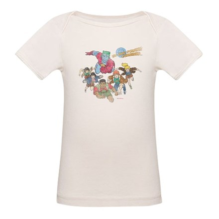 By Our Powers Combined Organic Baby T-Shirt