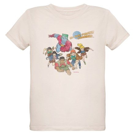 By Our Powers Combined Organic Kids T-Shirt