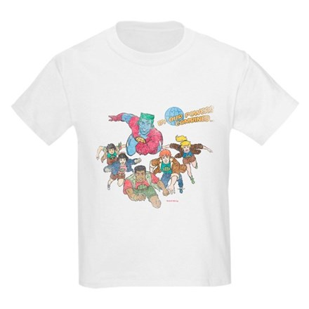 By Our Powers Combined Kids Light T-Shirt