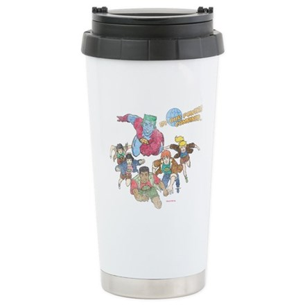 By Our Powers Combined Ceramic Travel Mug