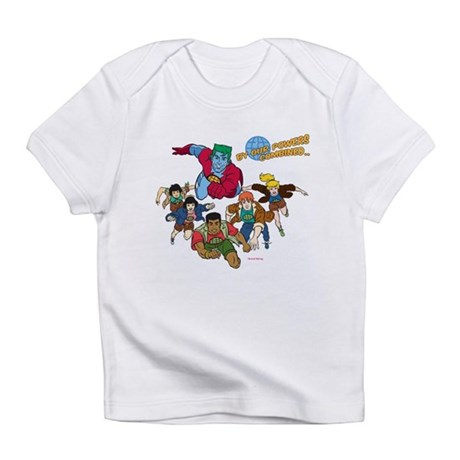 Captain Planet Powers Infant T-Shirt
