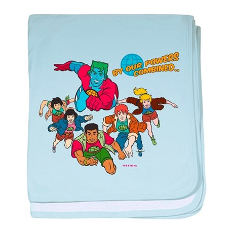 Captain Planet Powers baby blanket