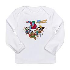 Captain Planet Powers Long Sleeve Infant T-Shirt