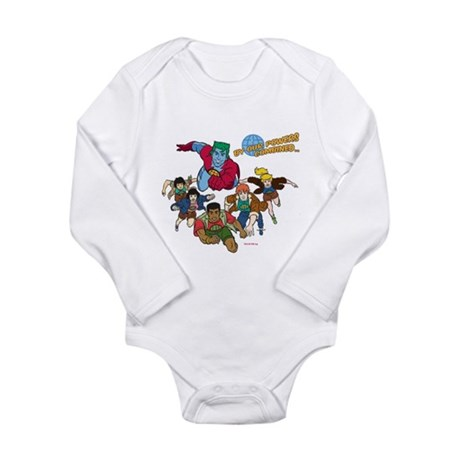 Captain Planet Powers Long Sleeve Infant Bodysuit