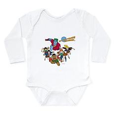 Captain Planet Powers Long Sleeve Infant Bodysuit