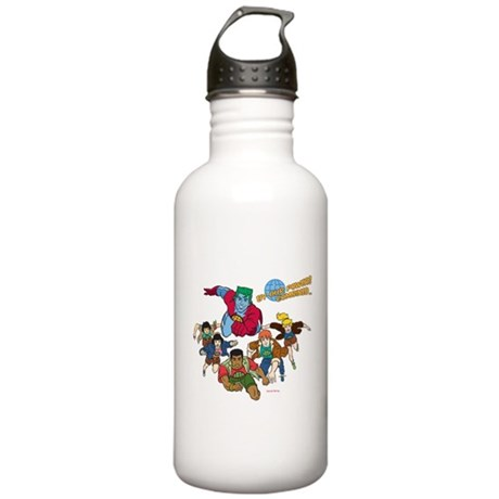 Captain Planet Powers Stainless Water Bottle 1 Liter