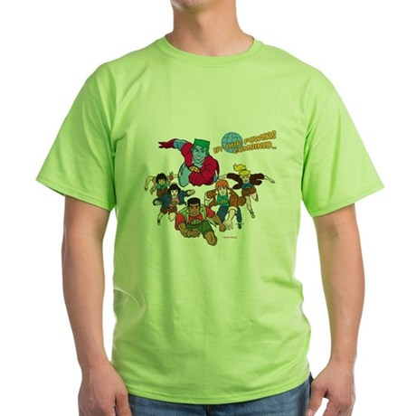 Captain Planet Powers Green T-Shirt