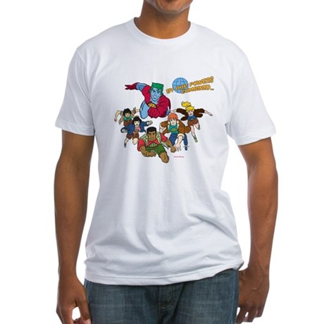Captain Planet Powers Fitted T-Shirt