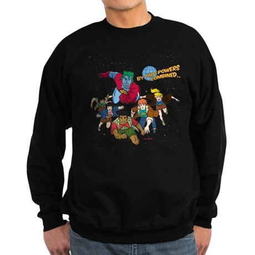 Captain Planet Powers Dark Sweatshirt