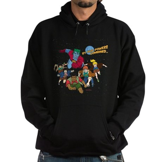 Captain Planet Powers Dark Hoodie