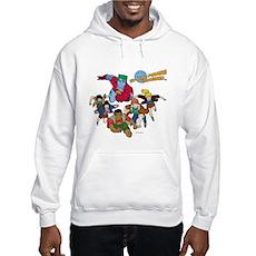 Captain Planet Powers Hooded Sweatshirt