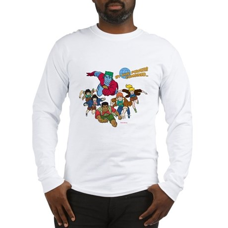 Captain Planet Powers Long Sleeve T-Shirt