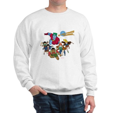 Captain Planet Powers Sweatshirt