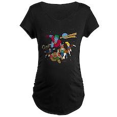 Captain Planet Powers Maternity T-Shirt