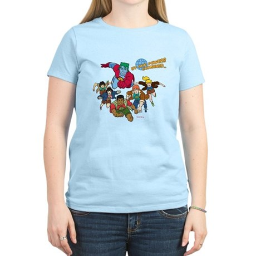 Captain Planet Powers Womens Light T-Shirt