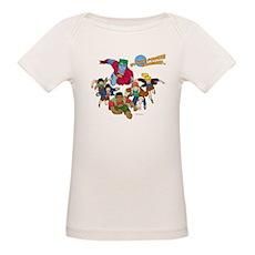 Captain Planet Powers Organic Baby T-Shirt