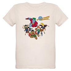 Captain Planet Powers Organic Kids T-Shirt