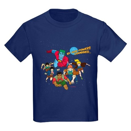 Captain Planet Powers Kids T-Shirt