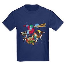 Captain Planet Powers Kids T-Shirt