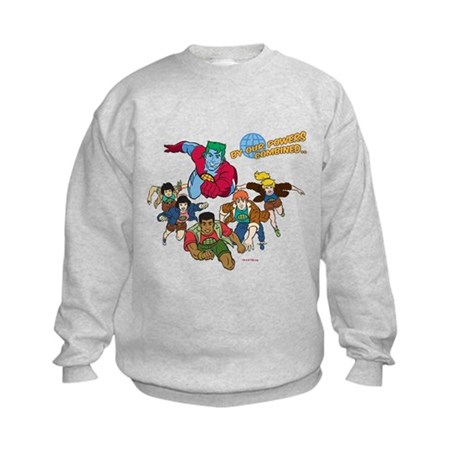 Captain Planet Powers Kids Sweatshirt