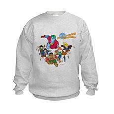 Captain Planet Powers Kids Sweatshirt