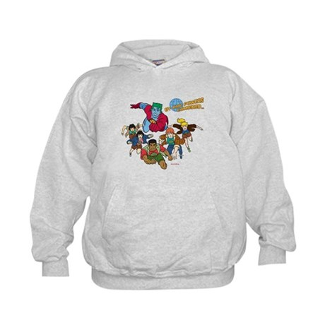 Captain Planet Powers Kids Hoodie