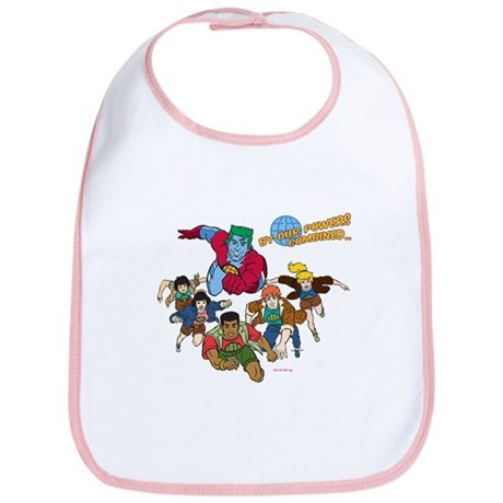Captain Planet Powers Bib
