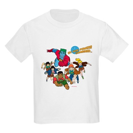 Captain Planet Powers Kids Light T-Shirt