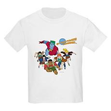 Captain Planet Powers Kids Light T-Shirt