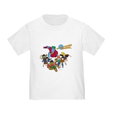 Captain Planet Powers Toddler T-Shirt