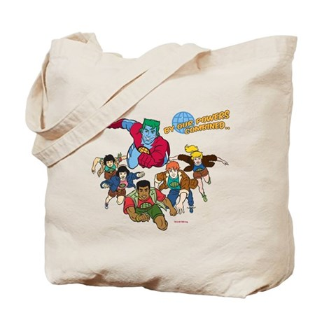 Captain Planet Powers Tote Bag
