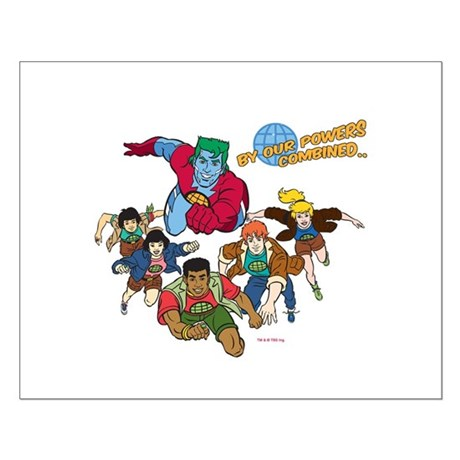 Captain Planet Powers Small Poster