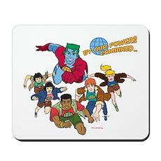 Captain Planet Powers Mousepad