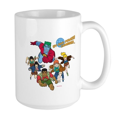 Captain Planet Powers Large Mug