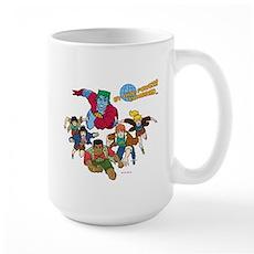 Captain Planet Powers Large Mug
