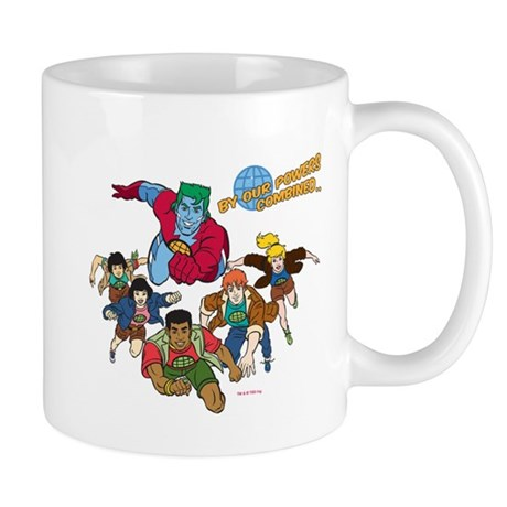Captain Planet Powers Mug