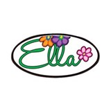 Ella Flowers Patches
