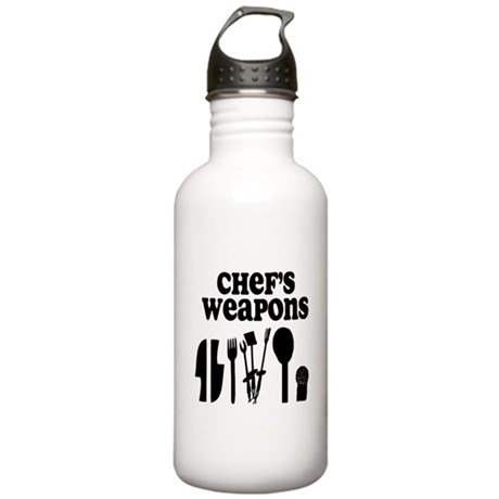 Chef's Weapons Stainless Water Bottle 1.0L