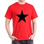 Black 5-Pointed Star Dark T-Shirt
