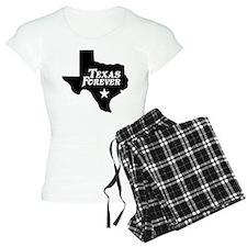 Texas Forever (White Letters) Pajamas