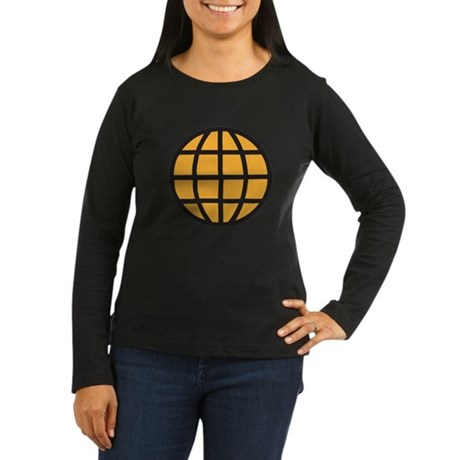 Captain Planet Womens Long Sleeve T-Shirt