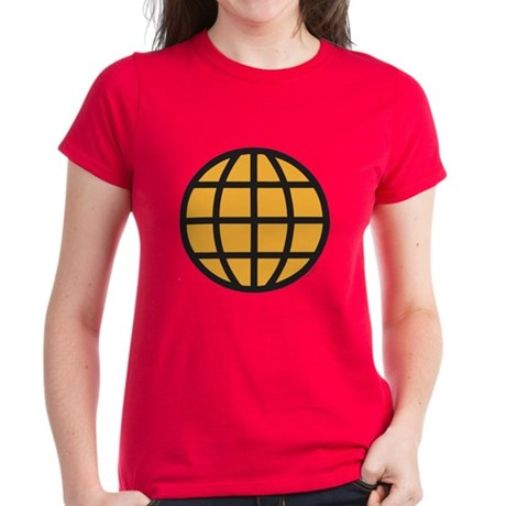Captain Planet Womens T-Shirt