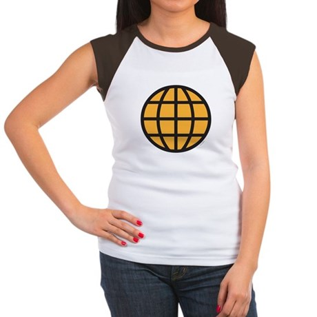 Captain Planet Womens Cap Sleeve T-Shirt